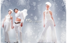 婚纱摄影模板05图片