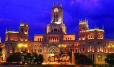 皇宫夜景图片