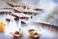 水彩画图片