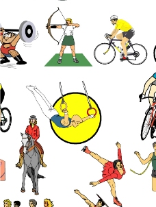 体育项目图片