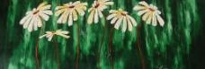 越南艺术家 Tinh Hoa 油画图片