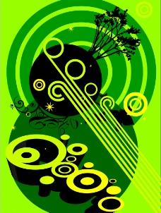 青綠幻想图片