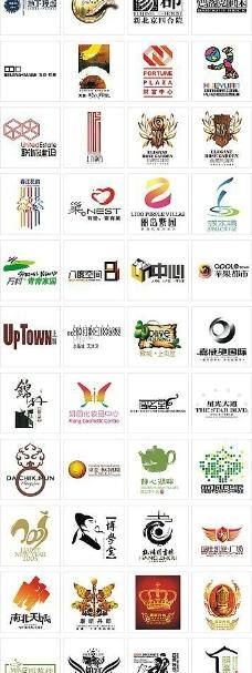大量房地产logo图片