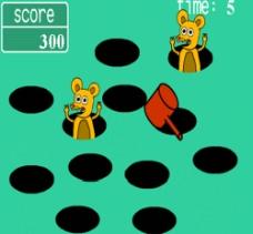 打地鼠flash游戏源代码