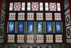 清晖园  窗子2图片