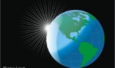 地球cdr矢量素图片
