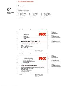 中国人民人寿名片图片