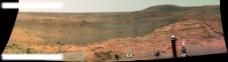 一张火星西部高原的照片图片