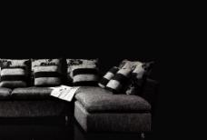 高精度psd分层高档沙发图片