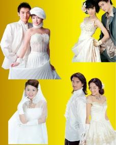婚纱人物收集图片