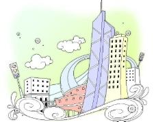 城市楼宇图片