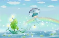 童话之梦里的船图片