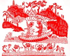 白蛇傳水斗圖片