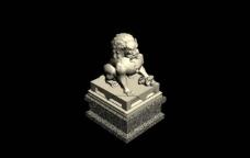 石头狮子3图片