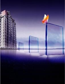 玻璃质感图片