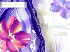 HanMaker韩国设计素材库 背景 底纹 纹理 肌理 花纹 水墨 水彩