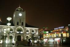 无锡教堂夜景图片