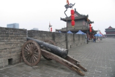 西安钟楼图片