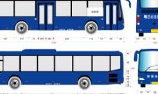 公交车VI用矢量图图片