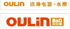 欧琳(oulin)电器水槽logo图片