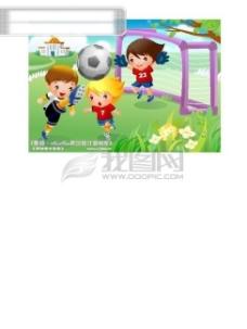 儿童运动会 矢量素材矢量图片 HanMaker韩国设计素材库