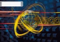 网络 科技 抽象 概念 设计 线条 科幻 电子 广告素材大辞典