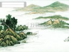 山水画与清明上河图
