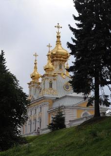 教堂的金屋顶图片