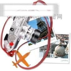 相机 风景 古堡 玩具 玫瑰花 戒指 女孩 蝴蝶 树叶 盆栽 手表 PSD分层素材源文件 韩国花纹图库