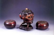 木雕精品图片