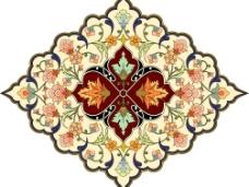 精美花纹图案EPS样式图片