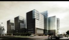 商业建筑效果图图片