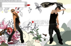 形色 colorful illustrations 插画 艺术画 概念画