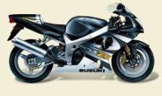 高手制作的有路径的摩托车图片