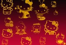可爱卡通猫咪笔刷