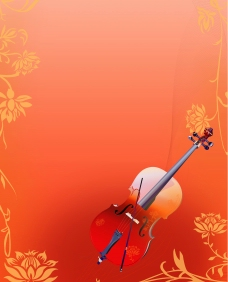 美丽小提琴图片