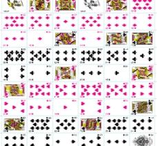扑克牌一套图片